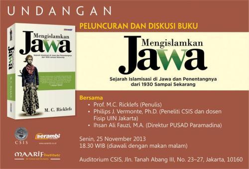 peluncuran mengislamkan Jawa
